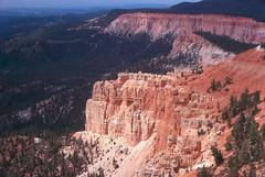 Bryce NP Yovimpa Pt Utah 1973 (slider5) Tags: utah bryce