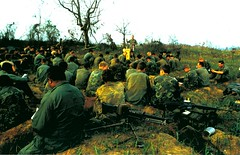 H Co, 2d Battalion, 5th Marines, Easter Service, 1969 (Marine Corps Archives & Special Collections) Tags: marine war vietnam corps marines