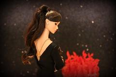 A-Z Challenge: B - Backless Dress (saratiz) Tags: roses necklace blackdress poppyparker dreamteen