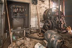 (JugglerNorbi) Tags: urban canada abandoned quebec decay machinery exploration destroyed hdr highdynamicrange urbex hdrquebec