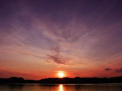 Sunset (Kalusija) Tags: sunset summer sun water fun nikon wasser sonnenuntergang sundown sonne spas d5200