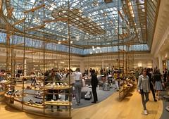 Le bon march, Paris (jrme labouyrie) Tags: bon paris france magasin market grand le march luxe