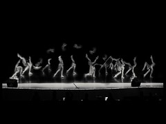 Dancing with the stars (Eddie /.:) Tags: art feet stars dance team dancing legs artistic surrealism stage surreal competition manipulation dancer onstage surrealist hss blackandwhiteart dancingcompetition artinblackandwhite