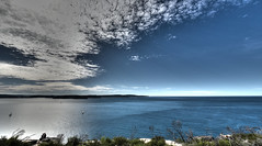 Barrenjoey Headland (ChristopherPaulYates) Tags: ocean sea sky cliff seascape water clouds top australia hdr barrenjoey