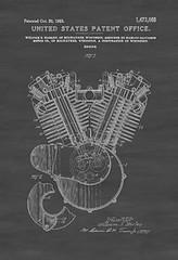Harley Engine Patent (BikerKarl2013) Tags: store badass helmet engine motorcycles harley stuff motorcycle biker patent