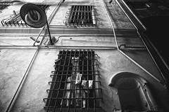 The cage (-Makar79-) Tags: 6d canonef24mmf14liiusm blackandwhite monochrome streetphotography genova liguria italia vicoli centrostoricodigenova caruggi mono biancoenero 24l canonprime 24lmkii streetview