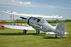 Gloster Gladiator (Bri_J) Tags: uk nikon fighter aircraft wwii bedfordshire airshow raf biplane gladiator gloster shuttleworthcollection glostergladiator oldwardenairfield d7200 seasonpremiereairshow