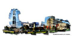 Palmerston North City Council - 3 (Tehau Hintze) Tags: outdoor photomontage palmerstonnorth joiner photocollage