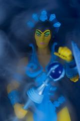 Evil Lyn (CptSpeedy) Tags: man action magic goddess evil figure warrior masters he universe villain mattel heman skeletor sorcery motuc