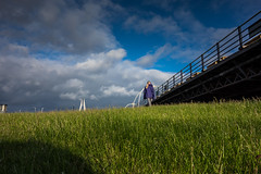 High Walk (tabulator_1) Tags: grass clouds bluesky southport darkclouds southportpier