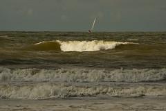 Belgian coast (Natali Antonovich) Tags: light sea nature water landscape boat seaside waves horizon northsea parallels oostende seashore seasideresort belgiancoast seaboard