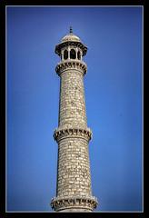 Agra IND - Taj Mahal Minarett 08