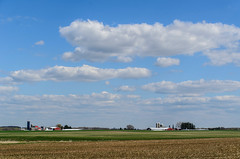 the land of cheese (contemplative imaging) Tags: sky usa cloud field wisconsin clouds digital america skyscape landscape outdoors photography town photo spring nikon midwest skies farm may american ag fields farms agriculture monday tamron wi 32 cloudscape agricultural 2x3 2016 wisc d7000 contemplativeimaging ronzack tam18200dx 20160502 ciwisc20160503d700028 ciwisc20160503d7000 portagecounty
