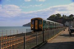 150247 150263 | Dawlish (Western Railway Photography) Tags: 150247 gwr green 150263 first great western railway blue local lines dawlish
