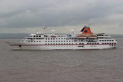 Hanseatic passing Portishead Point 13th June 2016 (Portishead Point) Tags: hanseatic