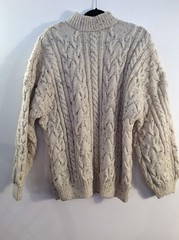Unisex Wool Knit Chunky Jumper (Mytwist) Tags: classic wool fashion fetish cozy fisherman ebay knit craft style mens passion jumper knitted unisex thick timeless pullover chunky bulky laine vouge cabled webfound aransweater handgestrickt mytwist aranjumper grobstrick edbont