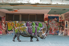 Urban Camouflage 3 (Cristina Burns) Tags: streetart surrealism urbanart fineartphotography urbanfairytales streetartnapoli streetartphotography cristinaburns fineartnapoli
