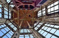 Utrecht, boven in de klokkentoren van de Domtoren, Nederland 2016 (wally nelemans) Tags: holland utrecht domtoren cathedral nederland thenetherlands belltower kathedraal 2016 klokkentoren