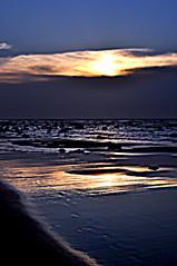 DSC_0087 End of a Day (tsuping.liu) Tags: outdoor ocean landscape lighting sky sea sunset seaside serene skyline shore sand refrection nature naturesfinest natureselegantshots