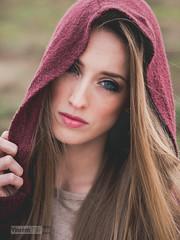 Under the hood 4 (Vincent-F-Tsai) Tags: portrait art girl beautiful face fashion pose eyes panasonic stare hood cloak sigma60mmf28dn lumixg7