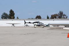 California Highway Patrol Bell 206L-4 LongRanger N6197N (jbp274) Tags: airport bell airplanes 206 police helicopter chp fullerton ful jetranger longranger californiahighwaypatrol kful