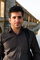Local Man Esfahan (gregtebble) Tags: people man iran esfahan