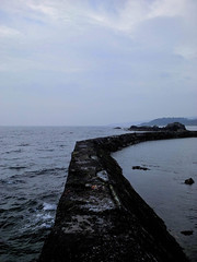 maidens_pier (sarahrfergsn) Tags: travel sea west scotland pier south peaceful calm rough baao