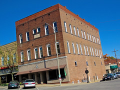 Masonic Lodge #245, Greenville, IL (Robby Virus) Tags: building brick architecture temple illinois ancient free lodge masonic masons fraternal organization greenville freemasons accepted afam