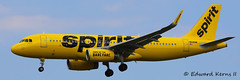 N645NK (Edward Kerns II) Tags: spirit flight airbus a320 782 kbwi sharklets n645nk