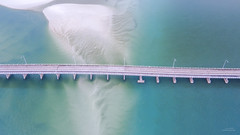 Forster to Tuncurry (Jay Daley) Tags: bridge australia aerial nsw forster tuncurry drone dji djix5 inspireonepro