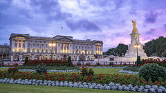 An Evening With The Queen... (JH Images.co.uk) Tags: hdr dri architecture buckingham palace sky sunset clouds queen royal british britain