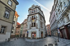 Old Town, Prague, Czech Republic (ott.geoffrey) Tags: street morning prague perspective cobblestone czechrepublic oldtown oldcity