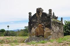 Lake Toba - Stone Batak Tomb (Drriss & Marrionn) Tags: travel sumatra indonesia skull outdoor tomb sarcophagus batak laketoba radja samosir simanindo ambarita bataktomb