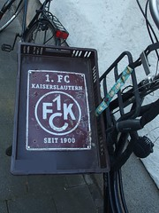 FCK-Drahtesel (mkorsakov) Tags: city bike bicycle sign schild wtf typo fahrrad mnster innenstadt 1fck fckaiserslautern