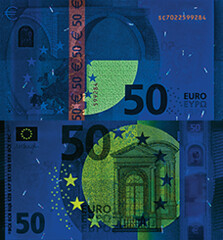 new-e50-uvlight (European Central Bank) Tags: ecb banknote ezb europeancentralbank 50 new50 securityfeatures
