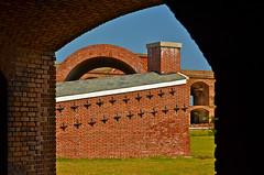 Geometry at Fort Jefferson (nebulous 1) Tags: nationalpark nikon fort bricks heater furnace fortjefferson drytortugas cannonballs drytortugasnp nebulous1 geometryatfortjefferson