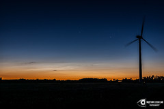 untitled-2 (Kajetan Ciesielski) Tags: sunset sky cloud night outdoor nlc windturbine