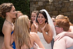 Joy (Kile in KC) Tags: wedding girls woman girl stone bride kansascity bridesmaid limestone kansas kc strapless
