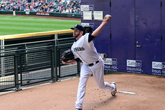 James Paxton (Trevor Ducken) Tags: seattle people june person baseball action mariners athlete pitcher seattlemariners mlb 2016 primelens nikond600