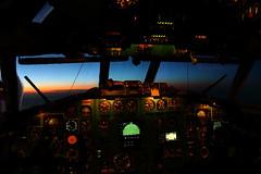 Dawn (Oleg Botov) Tags: sky plane dawn airport aircraft aviation jet spotting airliners avia tupolev jetliner  planespotting tu154    avgeek   planeporn 154 crewlife slavniyoleg