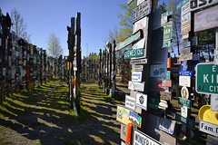 SIGN POST FOREST, WATSON LAKE  -  (Selected by GETTY IMAGES) (DESPITE STRAIGHT LINES) Tags: nikon flickr yukon getty gettyimages alaskahighway d800 signpostforest paulwilliams yukonterritory nikon2470mm nikkor2470mm nikond800 nikongp1 despitestraightlines despitestraightlinesatgettyimages gettyimagesesp signpostforestwatsonlake signpostforrestyukon