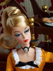 Lisbon Convention doll (*SquishTish*) Tags: cat miniatures doll dress tea furniture handmade convention cameo mattel articulated pivotal silkstone teacart conventiondoll squishtish littleenchantedworld