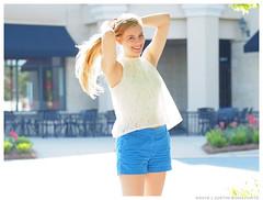 Emma - Golden Sheaf (jfinite) Tags: summer beauty fashion backlight model environmental portraiture shorts sheer