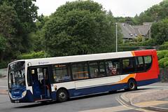 27749 PX11 DNN (Cumberland Patriot) Tags: white lund west bus buses floor low north super cumbria depot motor e300 300 alexander dennis ltd morecambe dart cumberland cms services stagecoach enviro adl in slf 755 27745 px11dnn