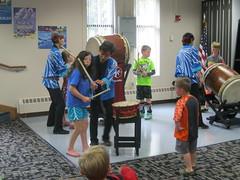 Children's Services (Owatonna Public Library) Tags: owatonna public library childrens services 2016 summer reading program mu daiko drummers