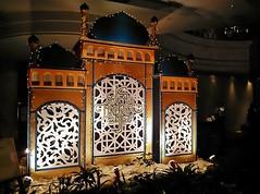 Ramadan decorations (SM Tham) Tags: decorations plants facade asia interior muslim eid lobby indoors malaysia cutouts domes ramadan aidilfitri petalingjaya minarets selangor spotlights eastinhotel