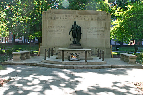 General View, Tomb of the Revolutionary War Unknown Soldier, Washington Square, Philadelphia