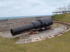 10-inch 18 ton Mk II R.M.L. (Okehills) Tags: cannon victorian artillery british bermuda rml gun 18ton 10inch bermudamuseum