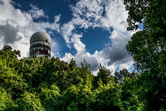 NSA is in da Forrest! (Mario Sixtus) Tags: leica berlin 35mm m konica dual nsa 21mm teufelsberg hexanon