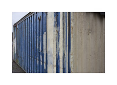 ** (ha*voc) Tags: canon6d canon35mmf2is abstraction blue urban urbanfragments ijmuiden industrialfragments urbanabstraction textures